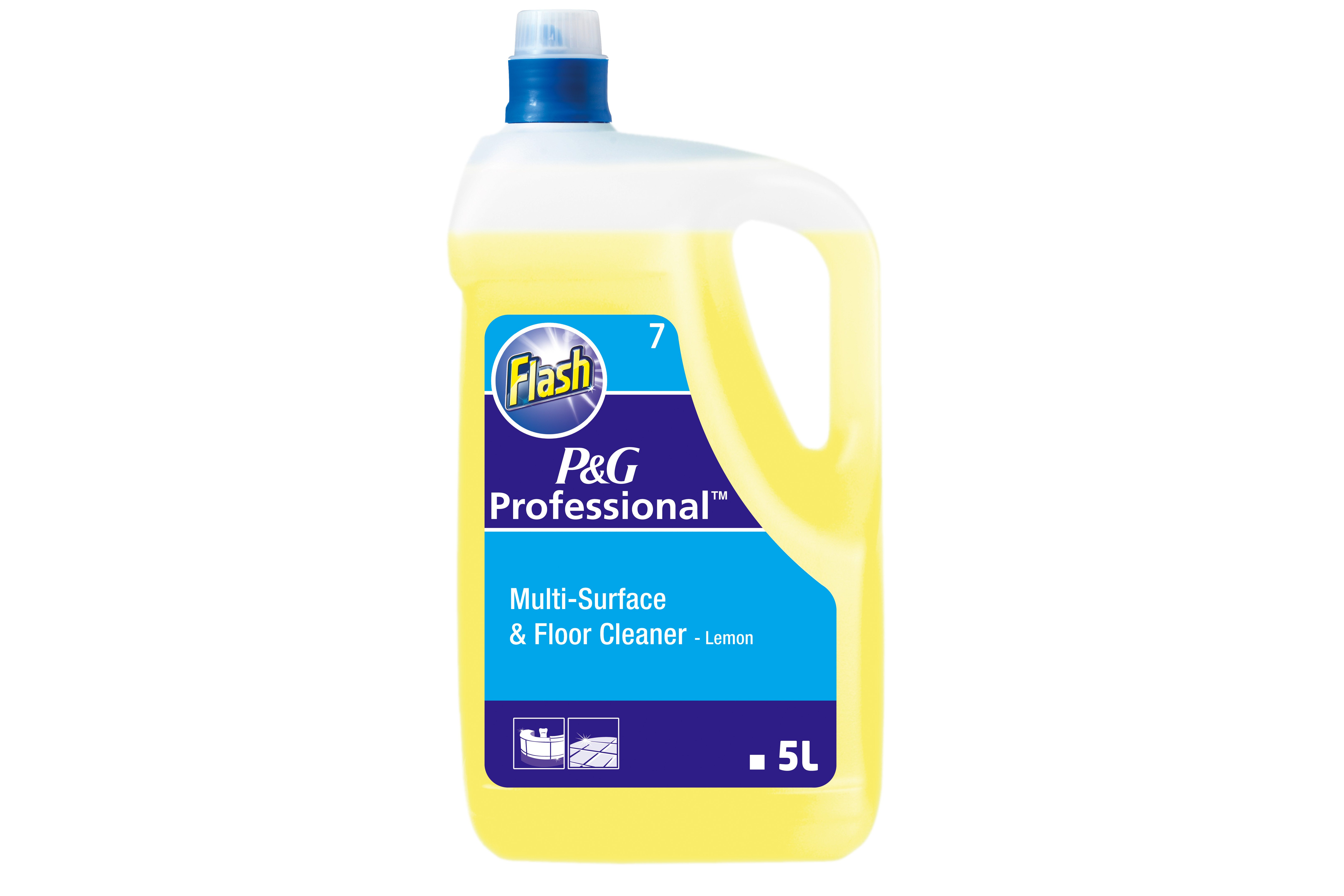 Flash all purpose cleaner lemon