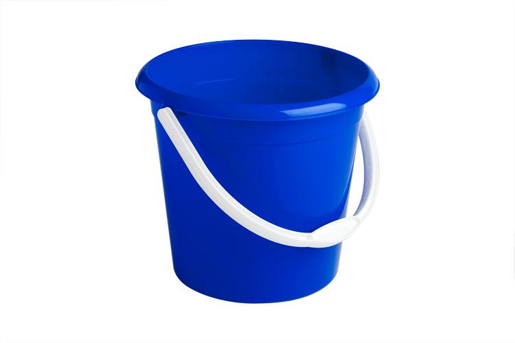 plastic bucket 10l blue 1 gopher supplies