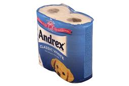 01 Andrex toilet tissue white