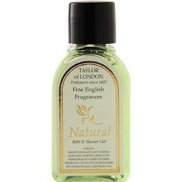 Natural range bath and shower gel