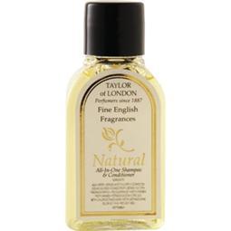 Natural range shampoo and conditioner