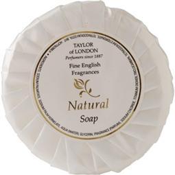 Natural range tissue pleat soap