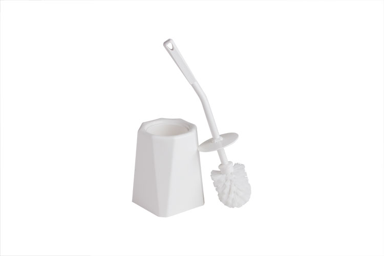 Toilet brush and holder (shown seperately)